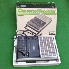 VTG-PHILIPS-N-2234-CASSETTE-RECORDER-K7-MINT-BOXED