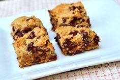 chocolate chip toffee bars