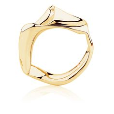 Spirits Bay Ring in Yellow Gold Gold Rings Online, Gold Jewelry, Jewelery, Dream Ring, Contemporary Jewellery, Ring Designs, Handmade Jewelry, Jewelry Design, Bangles