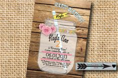 Rustic Country Theme Birthday Party Invitation by socalcrafty, $15.00
