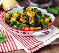 Sag aloo-a definite addition to the cookbook