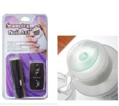 Konad Nail Art Mini Stamping nail Art Kit Include Mini Stamper Mini Polish and Mini Image Plat pump Remover Bottle (Empty) >>> Check out the image by visiting the link.