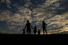 Light Inspired Everyday » Family Sunset by Jessica Svoboda Photography