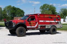 Indiana Fire Trucks: Fire and EMS Apparatus Pictures - Palmyra Fire Rescue Fire Dept, Fire Department, Cool Trucks, Big Trucks, Ambulance, Brush Truck, Wildland Fire, Cool Fire, Offroader