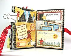 Mother Goose Mini Album by Kathy #graphic45