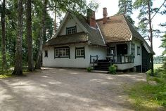 Ainola was the home of Jean Sibelius (34711). composer, finland, finnish, former, home, home of, jean sibelius, järvenpää, museum