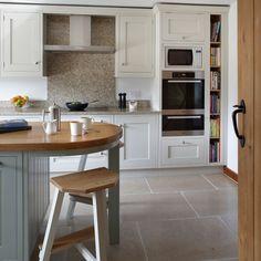 White Shaker-style kitchen | Traditional kitchen decorating ideas | Beautiful Kitchens | Housetohome.co.uk