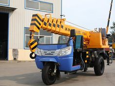 tricycle crane-3 ton-Product-Wolwa Group Co., Ltd.