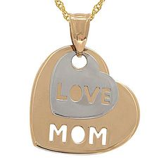 JcPenney has the #KaratGold Hearts for your Mom this Mother's Day! #JcPenney #MIGM #Gold #heart