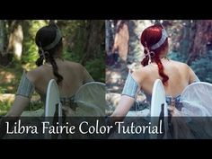 Adobe Photoshop CC Tutorial: How to brighten dark image, change hair color, retouch model