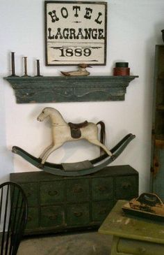 Like the antique rocking horse