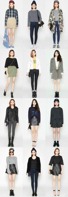55 Super Ideas For Moda Outfits Ideas Casual Street Styles Korea Fashion, Kpop Fashion, Asian Fashion, Trendy Fashion, Fashion Looks, Fashion Trends, Korean Street Fashion Urban Chic, Fashion Ideas, Korean Casual Fashion
