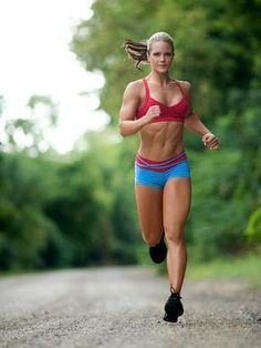 Nicole Wilkins - Nicole-Wilkins-Autographed-Running-Photo - Great Muscle Bodies - Train, be Fit, Workout Hard & Stay Strong Fitness Workouts, Fitness Motivation, Fit Girl Motivation, Sport Fitness, Running Motivation, Fitness Quotes, Fitness Tips, Health Fitness, Workout Exercises
