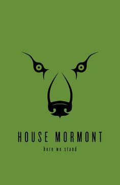House Mormont Minimalist Poster by LiquidSoulDesign.deviantart.com