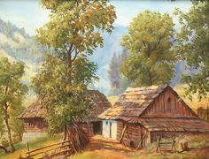 . House Styles, Painting, Decor, Needlepoint, Decoration, Painting Art, Paintings, Decorating, Painted Canvas
