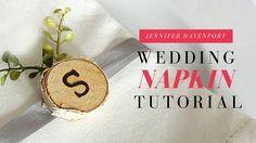 Wedding Napkin Idea