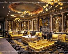 Lobby Interior, Mansion Interior, Luxury Homes Interior, Luxury Home Decor, Home Interior Design, Belmont, Le Palais, Cool Rooms, Ceiling Design