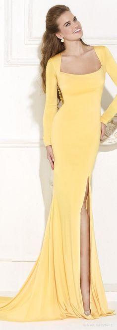 Tarik Ediz | The color story yellow in fashion