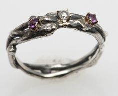 my birthstone and a diamond, pretty