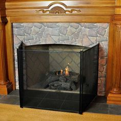 Fireplace Baby Proofing- Here is my quick solution to keep my ...