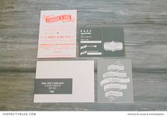 Simple, modern and rustic invitations