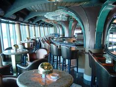 The moving ramp that takes passengers into Skywalkers Night Club enhances the spaceship feel of this top deck (Deck disco with its panoramic sea views and outer space-inspired decor. Golden Princess, Tongass National Forest, Movies Under The Stars, Glacier Bay National Park, Cruise Offers, World Cruise, Helicopter Tour, Princess Cruises, Cruise Port
