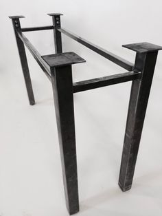 Metal Table Legs Modular Table Base Steel by InvictusSteelworks