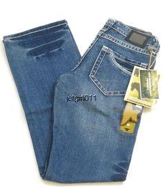 "Womens Iron Horse Jeans IHJ 8"" Low Rise Bootcut 0 Long Slim Fit 29 x 32 1/2 New #IronHorse #BootCut"