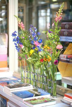 villa augustus flowerday by wood & wool stool, via Flickr