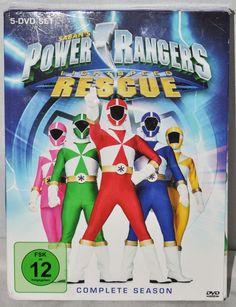 Power Rangers Lightspeed Rescue Complete Season DVD 5 Disc Box Set in German