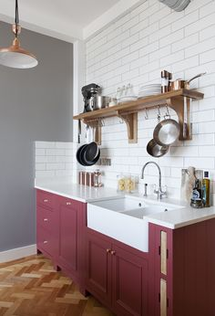 7 Red Kitchen Cabinet Ideas That Make a Strong Case for Swapping to the Bold Hue Kitchen Cabinets bold Cabinet Case Hue ideas kitchen Red Strong Swapping Red Kitchen Cabinets, Bright Kitchens, Kitchen Colors, Kitchen Remodel, Interior Design Kitchen, Bright Kitchen Decor, Red Kitchen, Red Cabinets, Kitchen Design