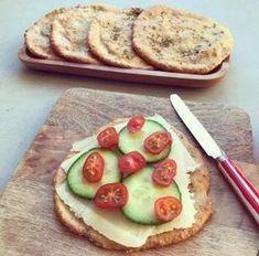Havermoutbroodjes (*glutenvrij) - Gezond met Femke