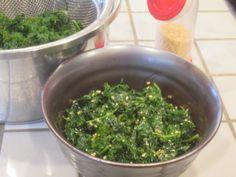 ケールのナムルとおひたし by 元気印主婦の素 [クックパッド] 簡単おいしいみんなのレシピが222万品