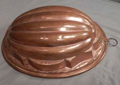 Antique Copper Food Mold Jelly Pudding Aspic French Kitchen | eBay
