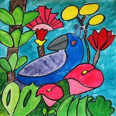 Rousseau Jungle Bird