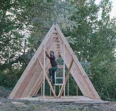 UO Journal: How to Build an A-Frame Cabin - Urban Outfitters - Blog