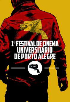 Cartaz Cinema Universitário da Porto Alegre