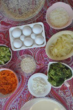 Healthy Meal Prep, Healthy Dinner Recipes, Vegetarian Recipes, Healthy Food, Baby Food Recipes, Cooking Recipes, Yummy Vegetable Recipes, Frittata Recipes, Tapas