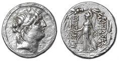 SELEUCID KINGDOM. Antiochus VII Eurgetes. 138-129 BC. AR Tetradrachm - Greek Coins - Coins