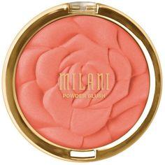 Milani Rose Powder Blush ($7.99) ❤ liked on Polyvore featuring beauty products, makeup, cheek makeup, blush, beauty, cosmetics, accessories, milani blush and powder blush