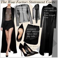 """""""The Wow Factor: Statement Coats"""" by martso on Polyvore"""
