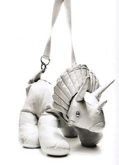 Giles Deacon triceratops bag.