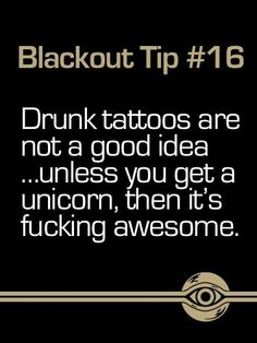 Breathe Carolina - Blackout Tips Last Unicorn, Real Unicorn, Cute Unicorn, Happy Unicorn, I Tattoo, Tattoo Quotes, Breathe Carolina, Seahorse Tattoo, Unicorn Tattoos