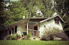 exterior North Carolina Arts & Crafts style cottage Living With Kids: Ashley English on DesignMom