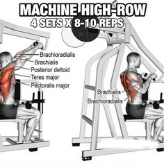 Back Workout But Slightly Different Part 3! Machine High-Row