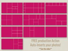 Album Templates by PhotographicElements on Etsy