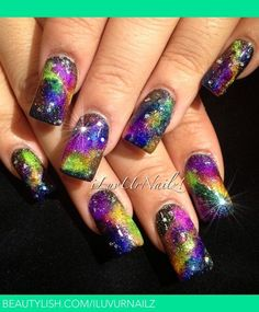 #Galaxy #Nails. Can't pin enough of them.