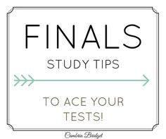 Midterm studying tips?