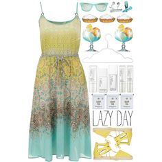 Lazy Day by valsal on Polyvore featuring moda, Yumi, Aquazzura and NARS Cosmetics