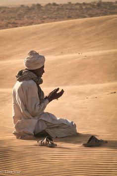 In Prayer - Thar desert, India